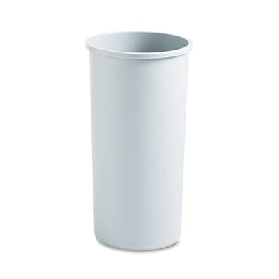 Rubbermaid® Commercial Untouchable® Large Plastic Round Waste Receptacle