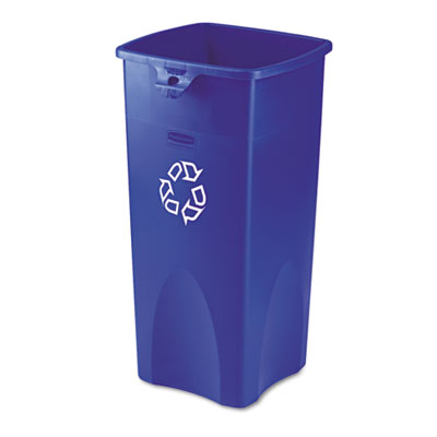 Rubbermaid® Commercial Untouchable® Square Recycling Container
