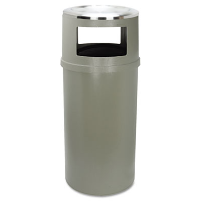 Rubbermaid® Commercial Ash/Trash Classic Container without Doors