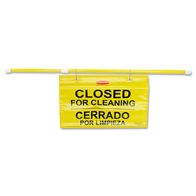 Rubbermaid® Commercial Site Safety Hanging Sign