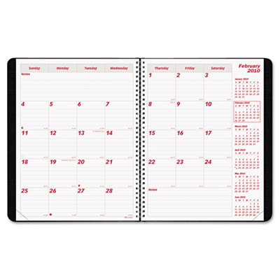 Brownline® PlannerPLUS 14-Month Monthly Planner