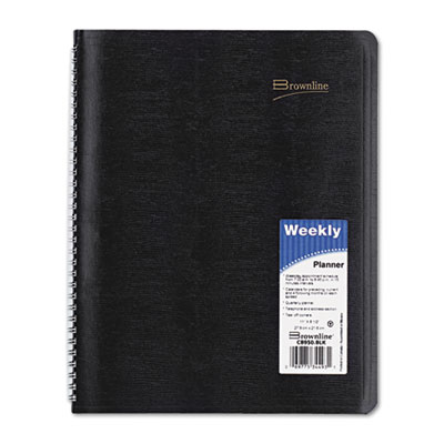 Brownline® Essential Collection Weekly Appointment Book in Columnar Format