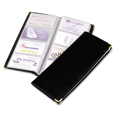 Rolodex Stitched Faux Leather Business Card Book At Nationwide