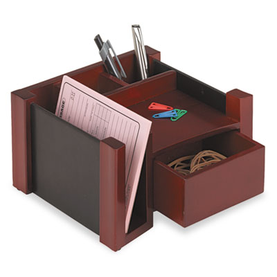 Rolodex nationwide industrial supply - Faux leather desk organizer ...
