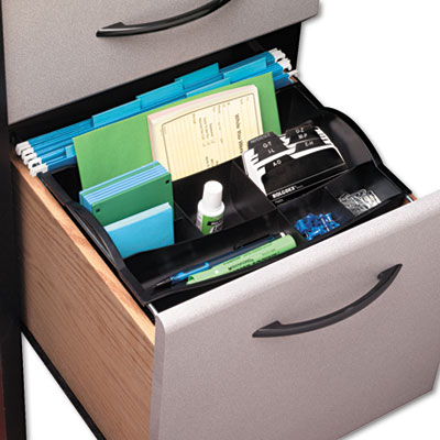 Rubbermaid® Plastic Hanging Drawer Organizer