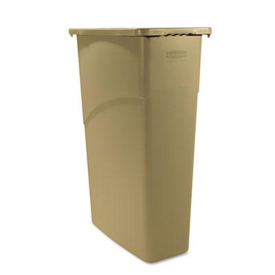 Rubbermaid® Commercial Slim Jim® Large Rectangular Waste Receptacle