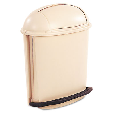 Rubbermaid® Commercial Fire-Safe Pedal Rolltop Receptacle