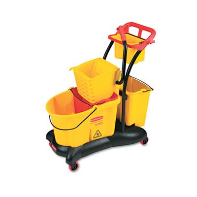 Rubbermaid® Commercial WaveBrake® Mopping Trolley Side Press