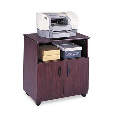 Safco® Mobile Laminate Machine Stand With Open Compartment