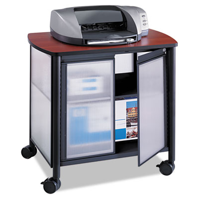 Safco® Impromptu® Deluxe Machine Stand with Doors