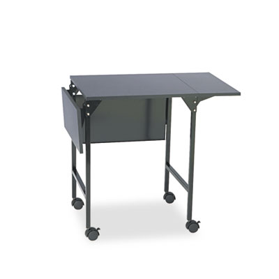 Safco® Mobile Machine Stand with Drop Leaves