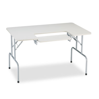 Safco® Folding Computer Table