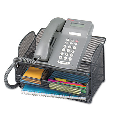 Safco® Onyx™ Mesh Telephone Stand