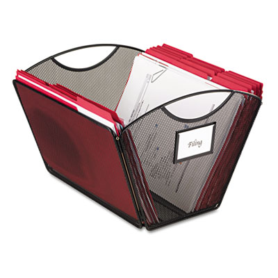 Safco® Onyx™ Mesh Desktop Tub File
