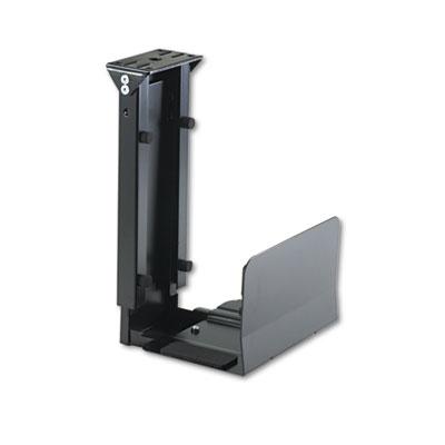 Safco® Ergo-Comfort® Fixed-Mount Under Desk CPU Holder