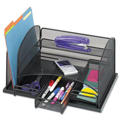 Safco® Onyx™ Organizer with Three Drawers