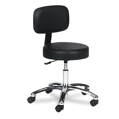 Safco® Pneumatic Lab Stool with Back