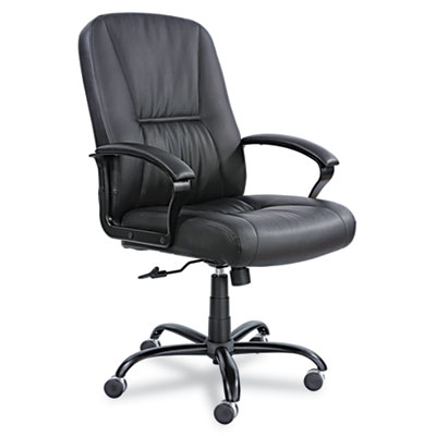 Safco® Serenity™ Big & Tall High Back Leather Chair
