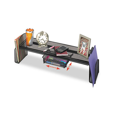 Safco® Onyx™ Mesh Off-Surface Shelf