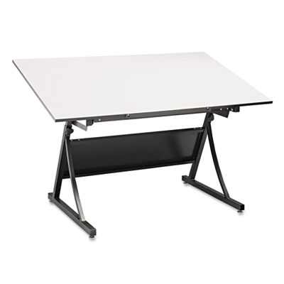 Safco® PlanMaster Height-Adjustable Drafting Table Base