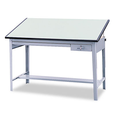 Safco® Precision Four-Post Drafting Table Base