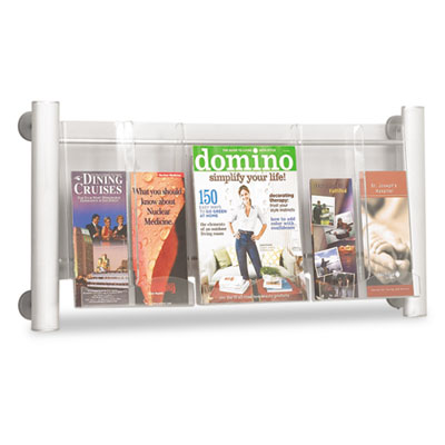 Safco® Luxe™ Magazine & Pamphlet Display
