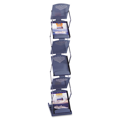 Safco® Portable Double-Sided Folding Literature Display