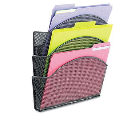 Safco® Onyx™ Magnetic Mesh Panel Accessories