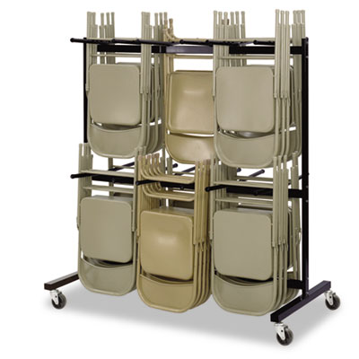 Safco® Two-Tier Chair Cart