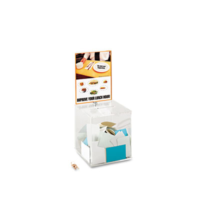 Safco® Large Acrylic Collection Box