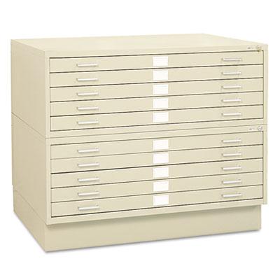 Safco® Five-Drawer Steel Flat File