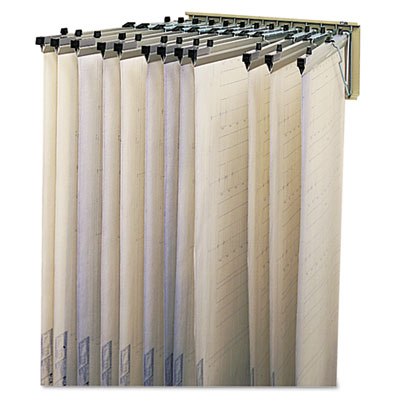 Safco® Sheet File Pivot Wall Rack