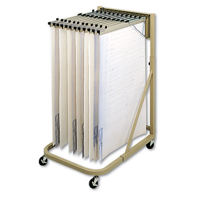 Safco® Steel Sheet File Mobile Stand