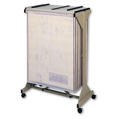 Safco® Sheet File Mobile Plan Center