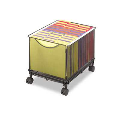 Safco® Onyx™ Mesh Mobile File Cube