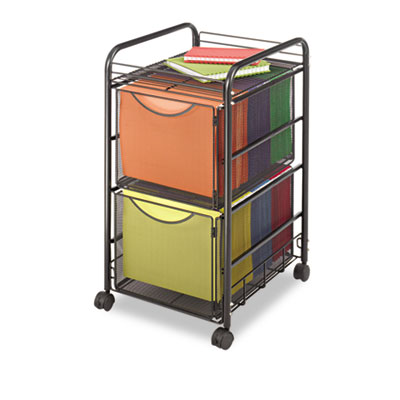 Safco® Onyx™ Mesh Mobile Double File