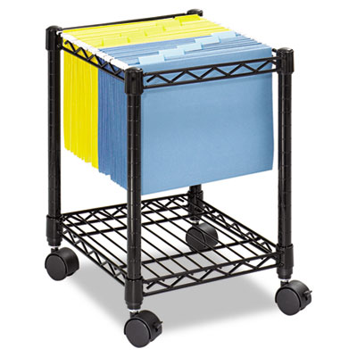 Safco® Compact Mobile Wire File Cart