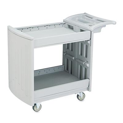 Safco® Two-Shelf Utility Cart