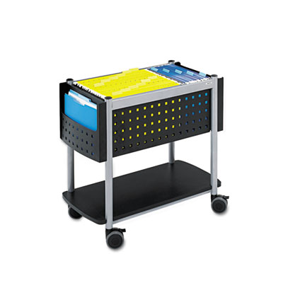 Safco® Scoot™ Open Top Mobile File Cart