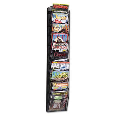 Safco® Onyx™ Mesh Literature Rack