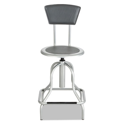 Safco® Diesel Industrial Stool with Back