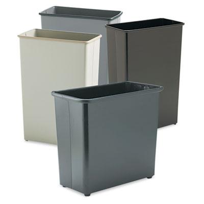 Safco® Square and Rectangular Wastebasket