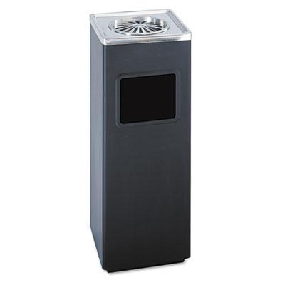 Safco® Square Ash 'N' Trash Sandless Urn
