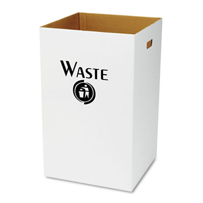 Safco® Corrugated Waste Receptacle
