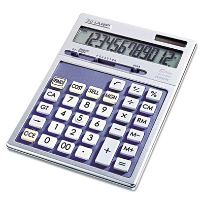 Sharp® EL2139HB Portable Executive Desktop/Handheld Calculator