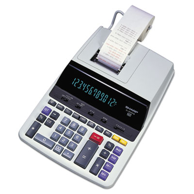 Sharp® EL2630PIII 12-Digit Commercial Printing Calculator