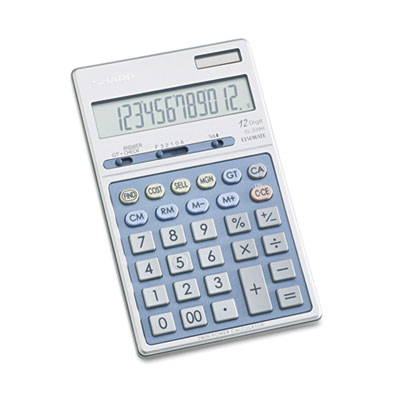 Sharp® EL339HB Executive Portable Desktop/Handheld Calculator