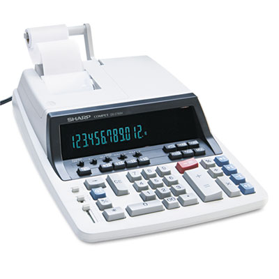 Sharp® QS-2760H 12-Digit Professional Heavy-Duty Commercial Printing Calculator