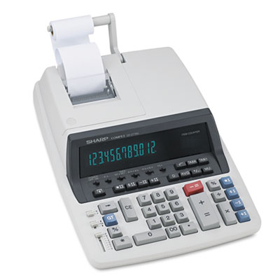 Sharp® QS-2770H 12-Digit Professional Heavy-Duty Commercial Printing Calculator