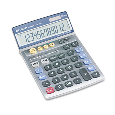 Sharp® VX792C Portable Desktop/Handheld Calculator